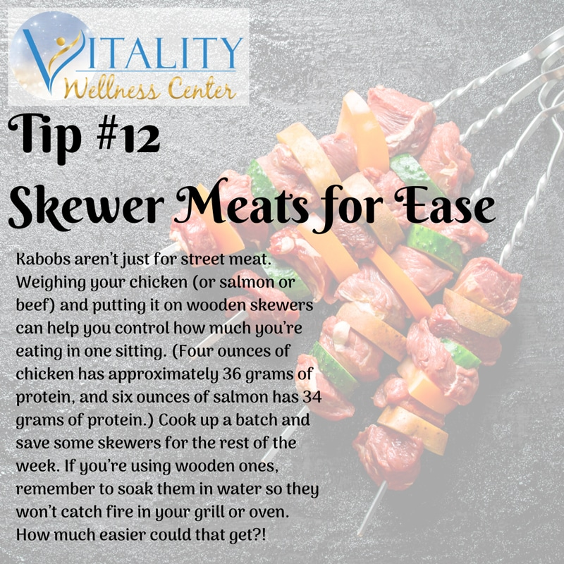 Healthy Eating Tips Number 12