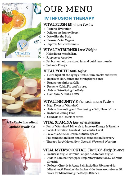 Weight Loss Meridian ID IV Vitamin Therapy