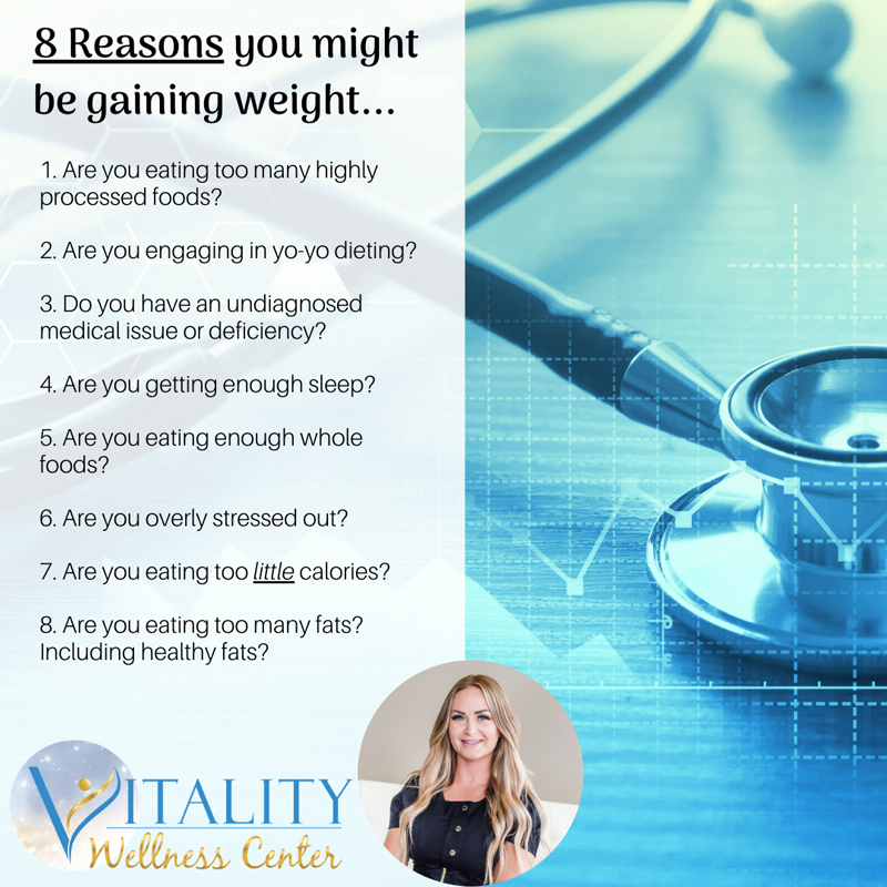 Weight Loss Meridian ID Reasons You May Be Gaining Weight