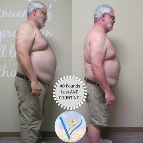 Vitality Wellness Center Before and After